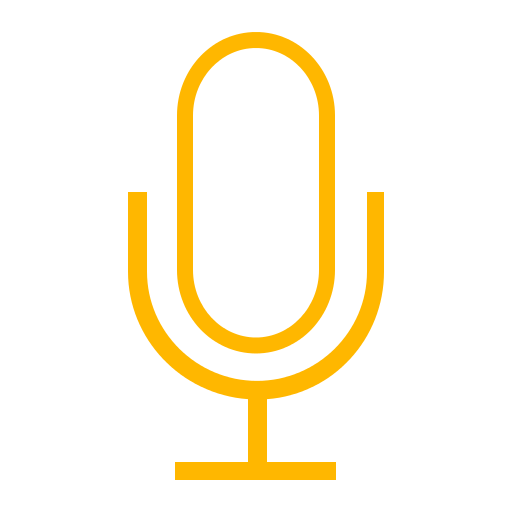 mic-outline-yellow