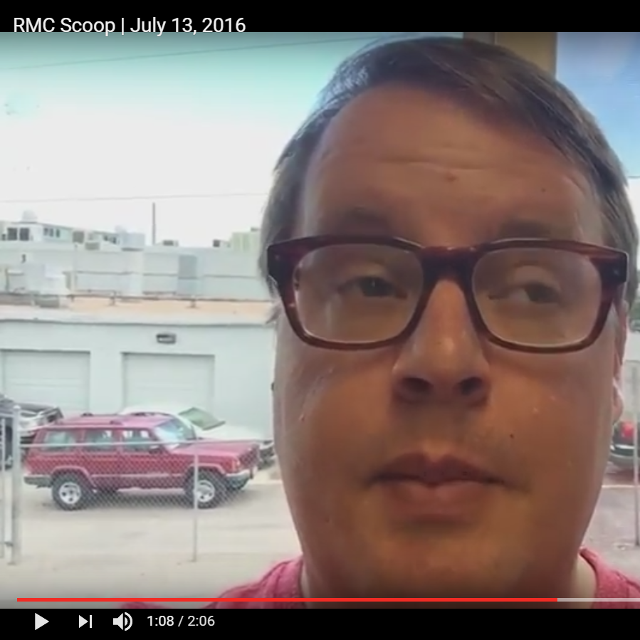 RMC Scoop – July 13, 2016 image