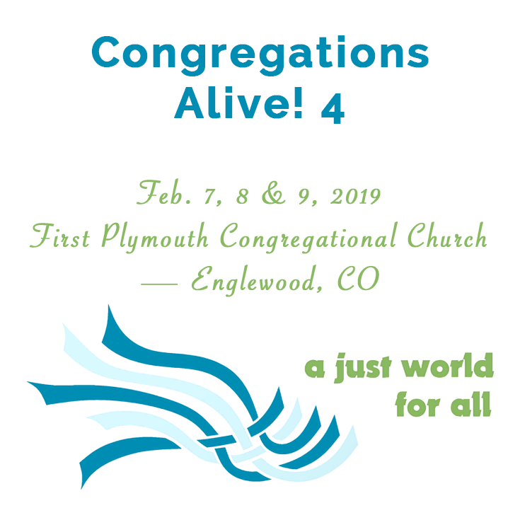 Full Details for Congregations Alive! 4 Announced image