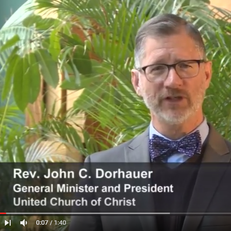 An Easter Message of Hope — John C. Dorhauer, UCC GM and President image