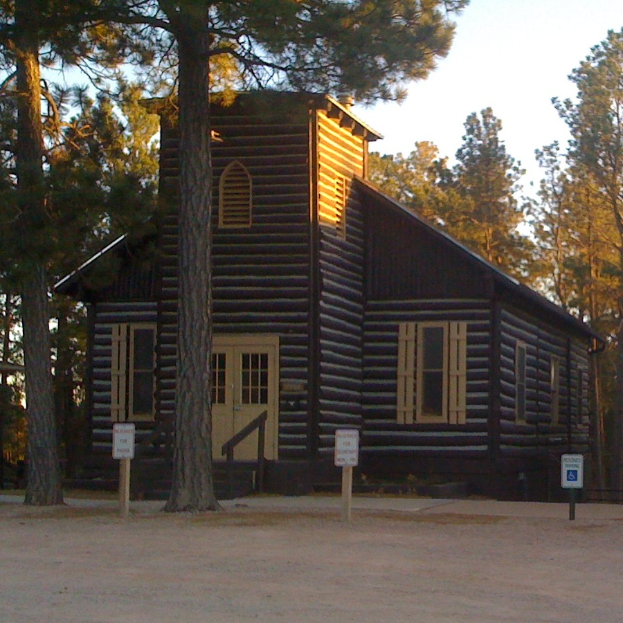"Help Black Forest Community Church Restore the ""Old Log Church"" image"