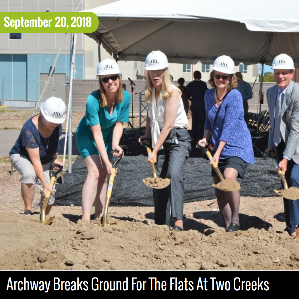"Archway Breaks Ground for ""The Flats at Two Creeks"" in Lakewood image"