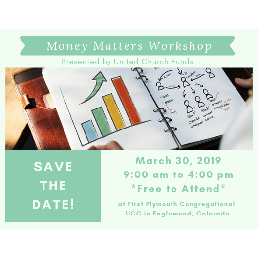 "March 30: FREE ""Money Matters"" Workshop from UC Funds image"