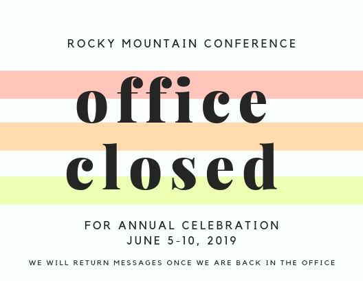 Office Closed for Annual Celebration image