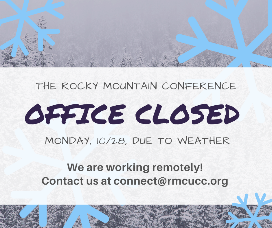 RMC Office Closed, Contct Us Via Email image