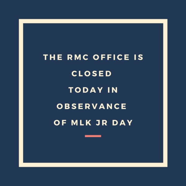 Office Closure MLK JR Day image