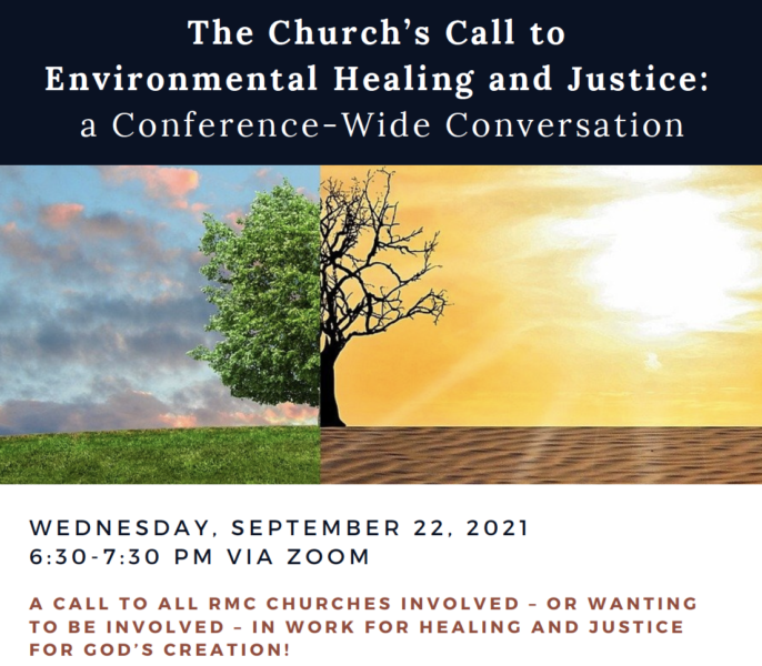 The Church's Call to Environmental Healing and Justice: a Conference-wide Conversation image