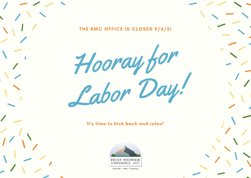 RMC Office Closed for Labor Day image